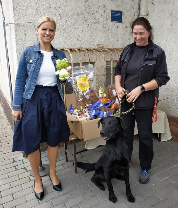 Pochutiny pro psí útulek z Ostravy